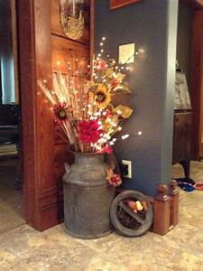 25, Diy, Fall, Decor, Ideas, With, Rustic, Elements