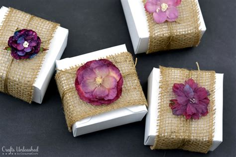 Diy Gift Boxes Embellished With Burlap & Flowers Diy Bathroom Renovation Ideas Kreg Klamp Table Gifts For My Boyfriends Birthday Garbage Can Storage Shed Valentines Day Him Mk4 Battery Relocation Divorce Scotland Fee Watch Box