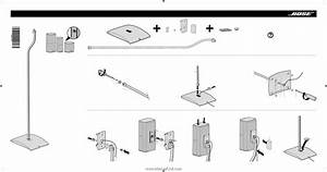 Bose Ufs 20 Universal Floor Stands Instructions