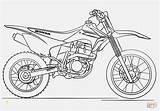 Coloring Dirt Bike Pages Honda Ausmalbild Hubschrauber Beispielbilder Faerben Divyajanani Motocross sketch template