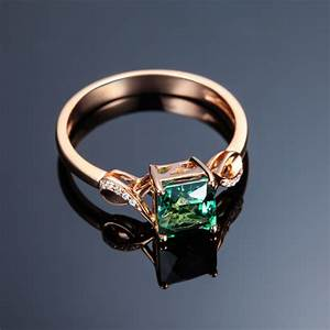 Unique 150 carat emerald and diamond infinity engagement for Emerald and diamond wedding ring