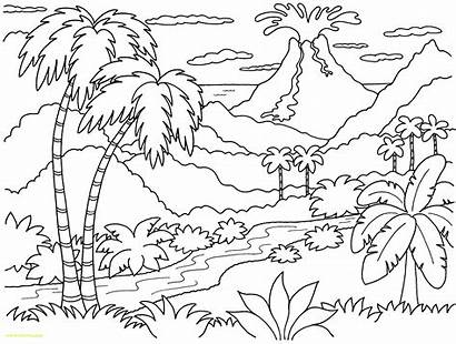 Sunset Coloring Pages Adults Printable Getcolorings