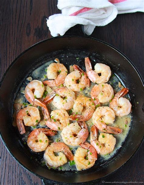 garlic chive shrimp cooking  ruthie