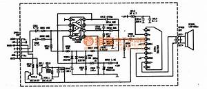 Tda7056 Integrated Block Typical Application Circuit