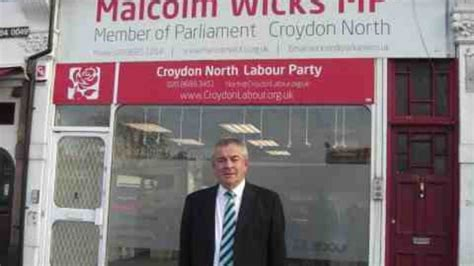 malcolm wicks    sorely missed