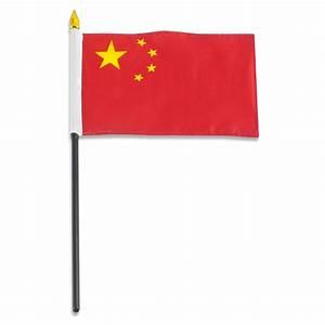 China Flag 4 x 6 inch