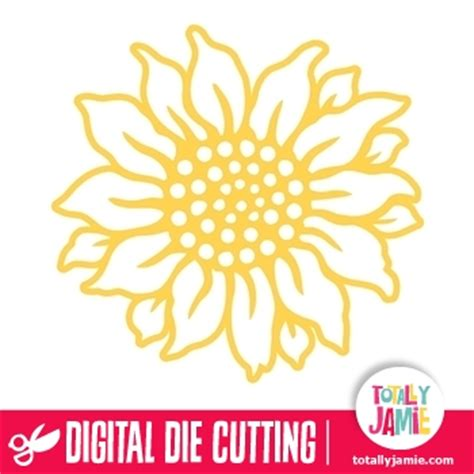 Craft Ideas For Kitchen - sunflower 1 totallyjamie svg cut files graphic sets clip arts