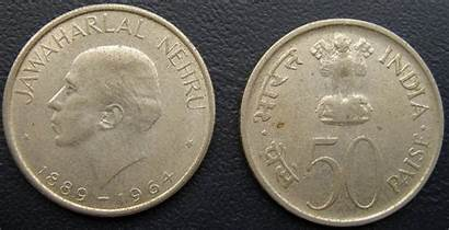Paise Coin Coins India Commemorative Rupee 1964
