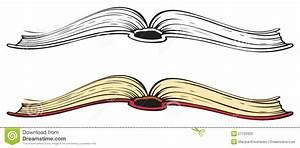 Open book. Vector sketch stock vector. Illustration of ...