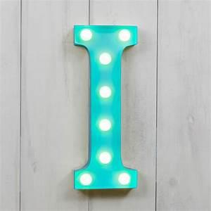 """I Vegas Metal 11"""" Mini LED Letter Lights Light Up"""