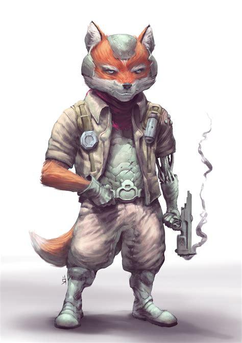 Star Fox Art By Oscar Römer — Geektyrant