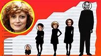 How Tall Is Susan Sarandon? - Height Comparison! - YouTube