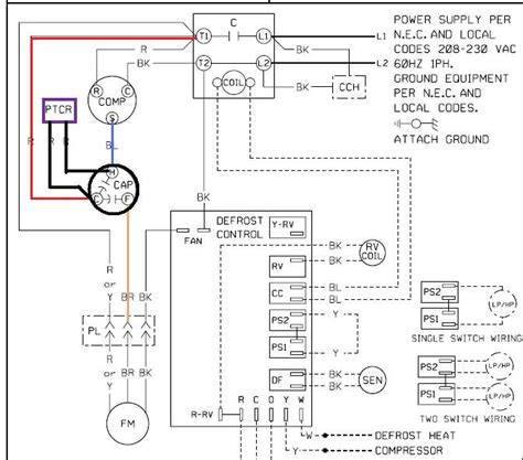 Fan Motor Start Capacitor Wiring by Dual Capacitor With Start Wiring Schematic