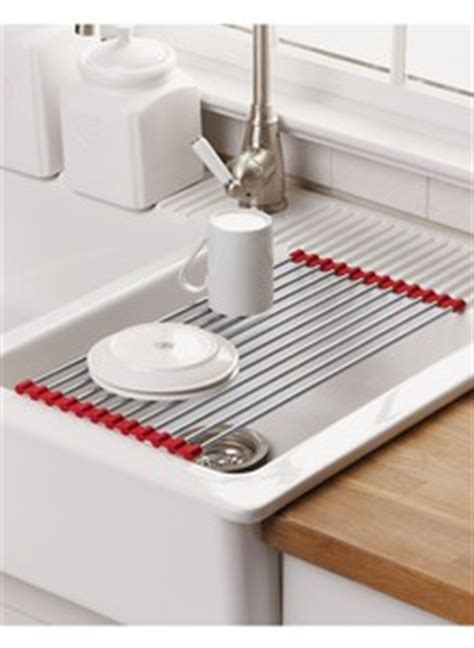 kitchen sink drying mats over sink roll up drying mat drleonards com