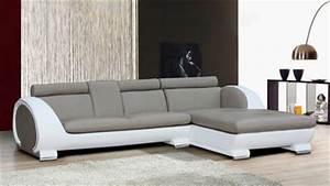 Canape Angle Cuir Gris : meuble orange vente de meubles design modernes mobilier moss ~ Teatrodelosmanantiales.com Idées de Décoration