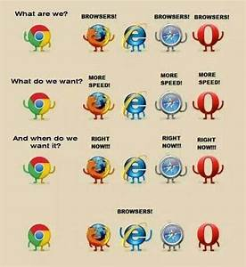 Browsers protest | Internet Explorer | Know Your Meme