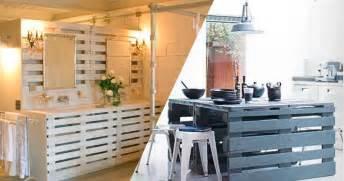 Faire Meuble En Palette Bois by 34 Astuces Ing 233 Nieuses Pour Transformer Les Palettes De