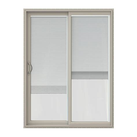 jeld wen 60 in x 80 in v 2500 series vinyl sliding patio