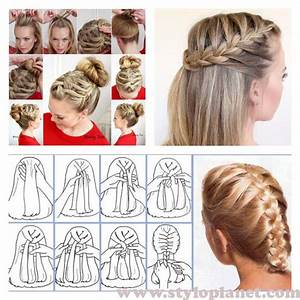 French Braid Step By Step Tutorial For Girls Stylo Planet