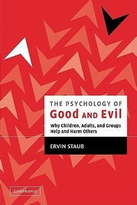 psychology  good  evil  children adults