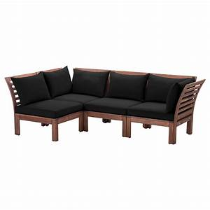 applaro hallo corner sofa 31 outdoor brown stained black With outdoor corner sectional sofa