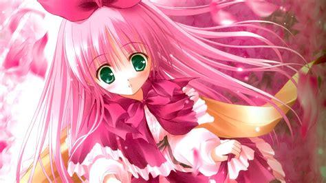 Wallpaper Anime Pink - 壁纸 可爱的粉红色头发动漫女孩 1920x1200 hd 高清壁纸 图片 照片