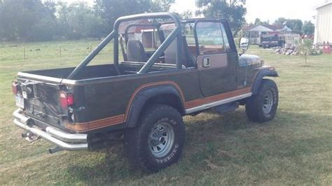 amc jeep scrambler sell used amc 1982 jeep cj 8 scrambler 304 v8 t5 5 speed