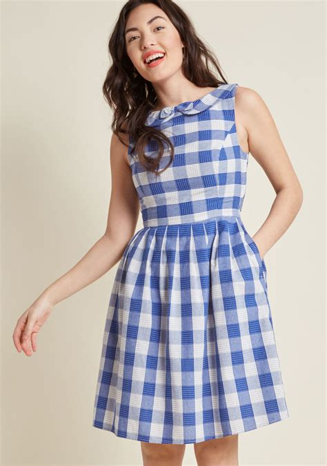 kindly invited cotton   dress modcloth