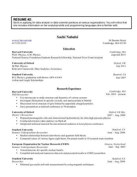 Phd Resume by Phd Resume Cover Letters