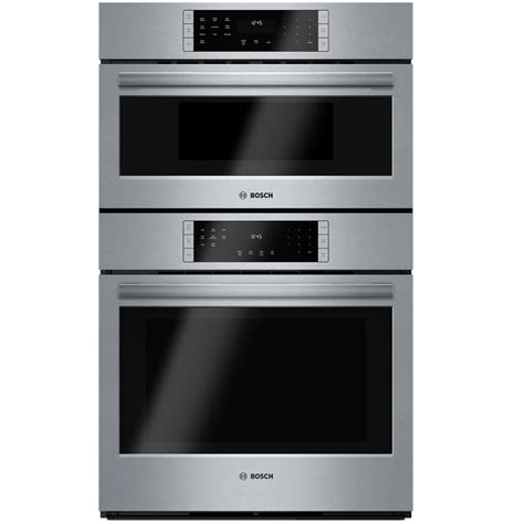 combo microwave and oven shop bosch self cleaning convection microwave wall oven
