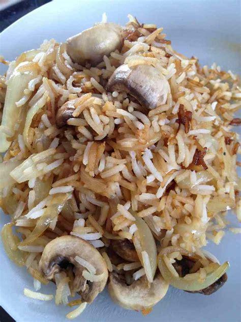 cuisiner le riz basmati poêlée riz et chignons et sa cuisine gourmande
