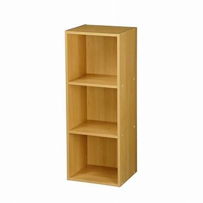 Shelf Wooden Storage Wood Unit Tier Shelving