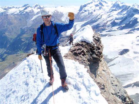 Rene At The Top Of The Matterhorn