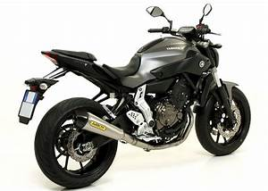 Mt 125 Tuning : 2014 yamaha mt 07 receives arrow exhaust upgrades ~ Jslefanu.com Haus und Dekorationen