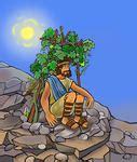 Jonah Under the Gourd Vine