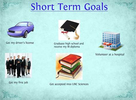 what are your professional goals what are your short term and long term career goals mba