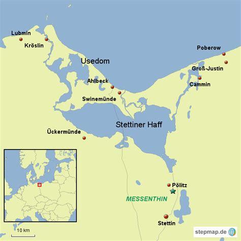 Stettiner Haff Karte