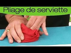Pliage Serviette Youtube : pliage de serviette en forme de rose youtube ~ Medecine-chirurgie-esthetiques.com Avis de Voitures