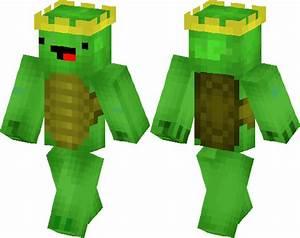 King Turtle Derp Minecraft Skin Minecraft Hub
