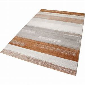 tapis moderne orange et gris dreaming esprit 133x200 With tapis orange et gris