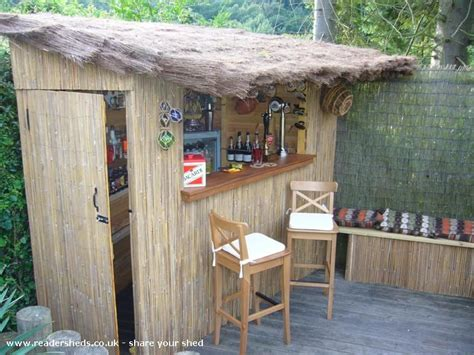 beach bar pub shed shed  shropshire readersheds