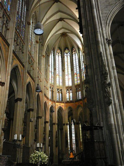 Filecologne Cathedral Interiorjpg  Wikimedia Commons
