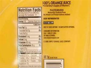 Simply Orange Juice Nutrition Facts – Besto Blog