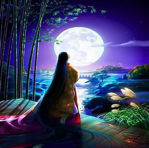 full moon - Fantasy & Abstract Background Wallpapers on ...