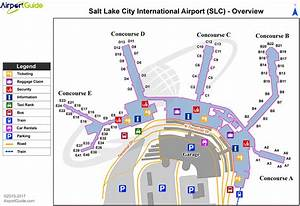 Slc Airport Diagram
