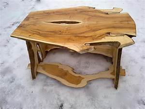 Unique coffee table is victory over the boring interior for Unusual wood coffee tables