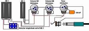 Single Coil Humbucker Wiring Diagram