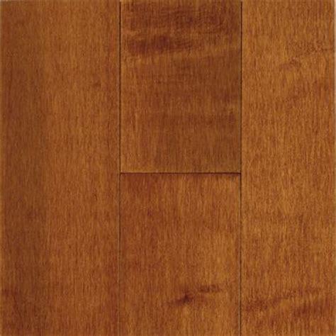 home depot unfinished flooring bruce prestige maple cinnamon solid hardwood flooring 5 in x 7 in take home sle br 697664
