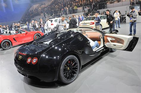 Bugatti Veyron Grand Sport Vitesse Black Bess 2018