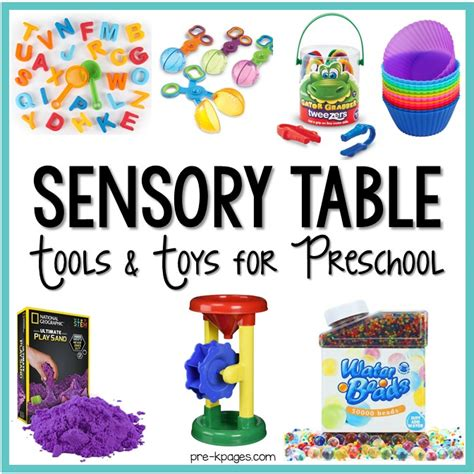 sensory table tools and toys for preschool pre k pages 149 | Sensory Table Tools and Toys for the Preschool Classroom